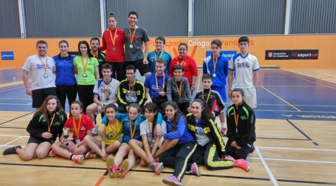 Molts bons resultats en el Campionat de Catalunya Absolut i sub-15